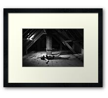 Stripped down and raw Framed Print