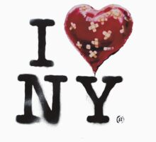 Banksy Loves NY T-Shirt by banksytshirt