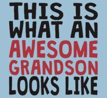 Awesome Grandson Kids Tee