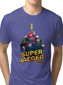 Super Jaeger Bros Tri-blend T-Shirt