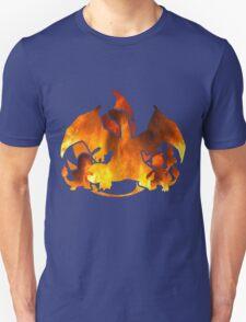 Pokemon Gen 1 - Fire Starters T-Shirt