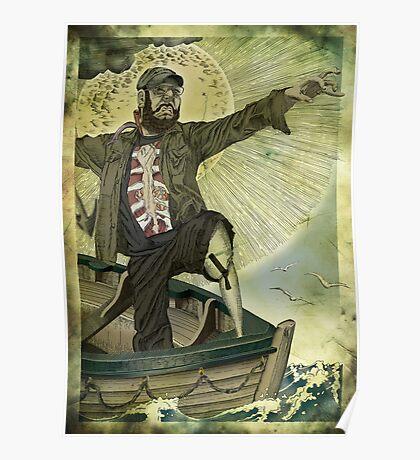 Captain Ahab. Poster