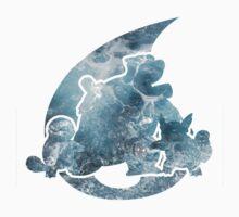 Pokemon Gen 1 - Water Starters Kids Clothes