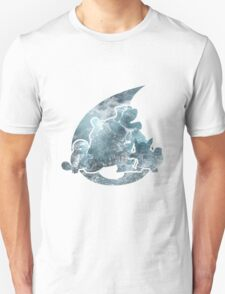 Pokemon Gen 1 - Water Starters T-Shirt