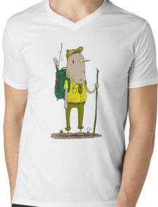Bird Scout Mens V-Neck T-Shirt
