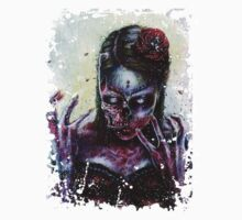 Day of the Dead Girl Zombie by Jose Gomez