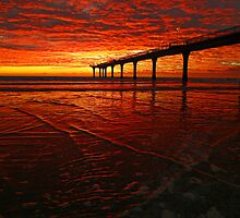 Blood Red Dawn by PictureNZ