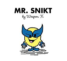 Mr Snikt Photographic Print