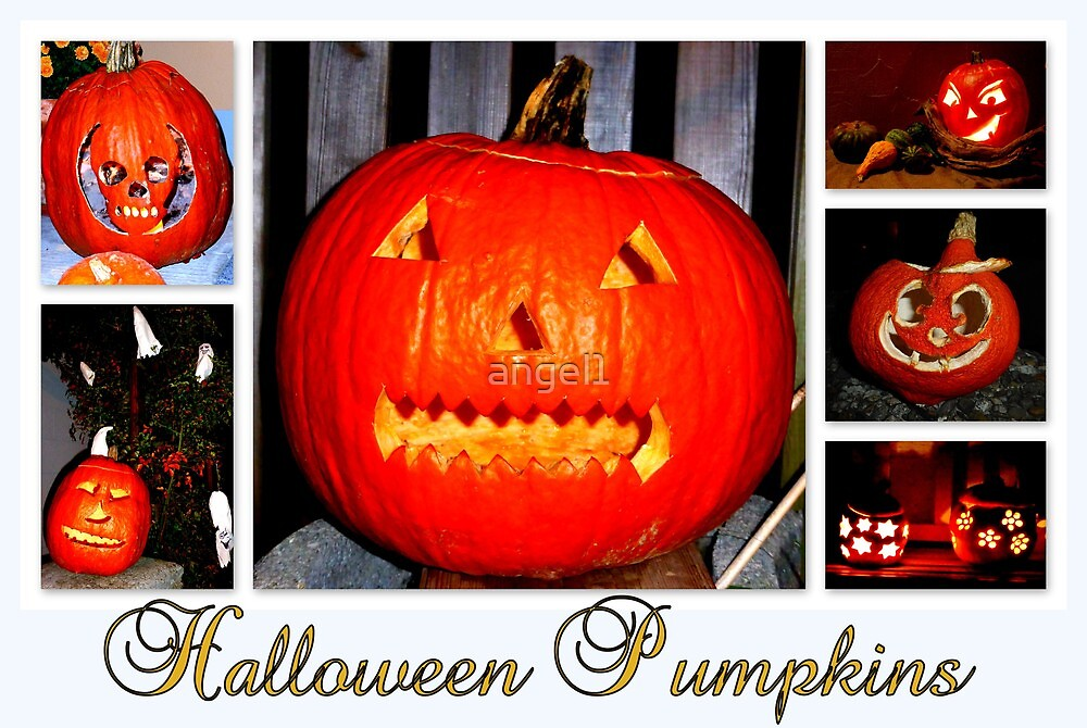 Halloween Pumpkins by ©The Creative  Minds