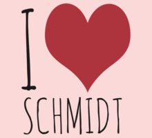 I Love Schmidt by newgirlfans