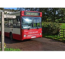 Village Bus Photographic Print