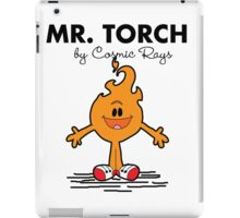 Mr Torch iPad Case/Skin