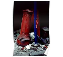 Lower Manhattan Detritus Poster