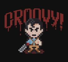 Evil Dead Pixels One Piece - Short Sleeve