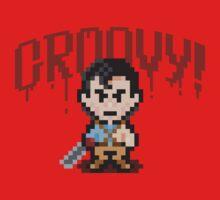 Evil Dead Pixels Baby Tee