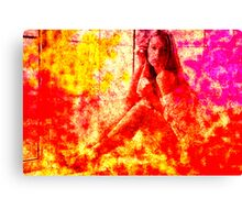 Figurative 43 Canvas Print