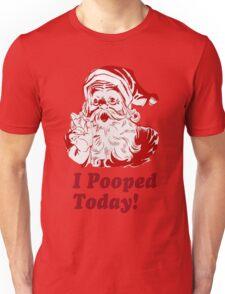 I Pooped Today Santa T-Shirt