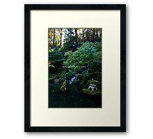 Mystic's Forest Framed Print