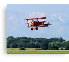 Triplane from The Great War Canvas Print