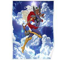 Goddess of Thunder Poster
