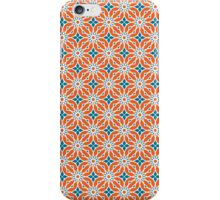 Geometric pink and blue with some violet pattern iPhone Case/Skin