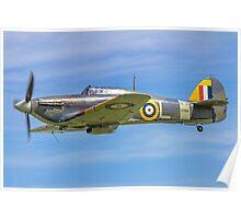 Hawker Sea Hurricane Ib Z7105 G-BKTH Poster