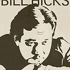 Bill Hicks Vintage Poster by FinlayMcNevin
