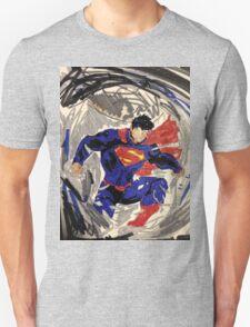 Superman Abstraction  T-Shirt