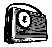 TRANSISTOR RADIO PORTABLE  by SofiaYoushi