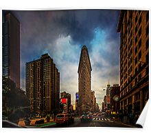 New York City, The Flatiron District Poster