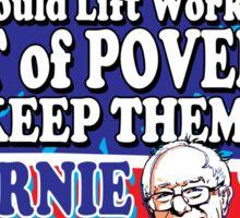 Bernie Sanders For Jobs Sticker