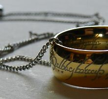 Lord of The Rings One Ring by CarolineDFTBA