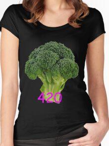 420 Blaze It Women's Fitted Scoop T-Shirt
