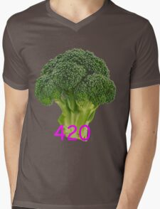 420 Blaze It Mens V-Neck T-Shirt