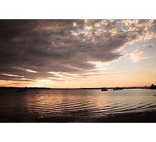 A Tranquil Island Sunset Photographic Print
