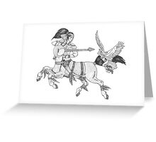 Heavy Metal Mythology Greeting Card