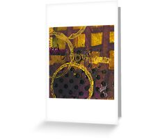 Bands of Gold Greeting Card
