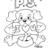 P.S. - I Love You by FuzzySoulTiger