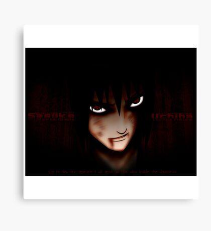Sasuke Dying Canvas Print