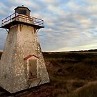 St. Peters Harbour Lighthouse IV by Kathleen M. Daley