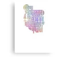 How Strange :: Alice      {{READ DESCRIPTION}} Metal Print