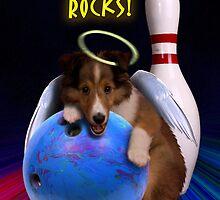 Bowling Rocks Angel Sheltie Puppy by jkartlife