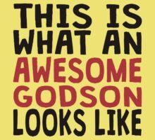 Awesome Godson Kids Tee