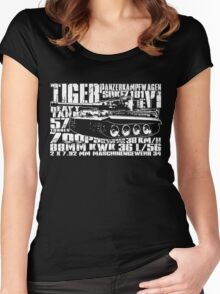 Tiger I Women's Fitted Scoop T-Shirt