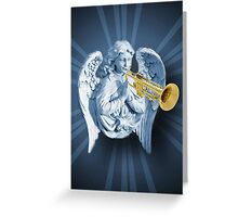 ¨*•♪♫•*¨ANGEL--WHEN THE TRUMPET SOUNDS-DEDICATED TO ANN MY DEEPEST SYMPATHY HUGS¨*•♪♫•*¨ Greeting Card