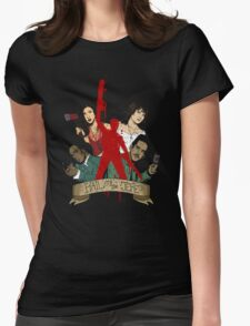 Hail To The Jefe! Womens Fitted T-Shirt