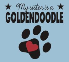My Sister Is A Goldendoodle One Piece - Short Sleeve