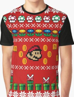 Super Mario Ugly Sweater Graphic T-Shirt