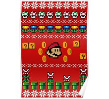 Super Mario Ugly Sweater Poster