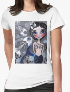 """""""My Skellyfish Friends"""" Womens Fitted T-Shirt"""
